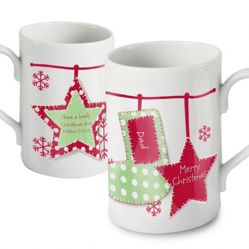 Personalised Christmas Stocking Mug